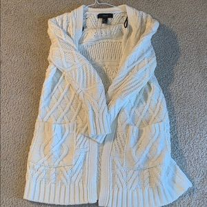 cream long sweater